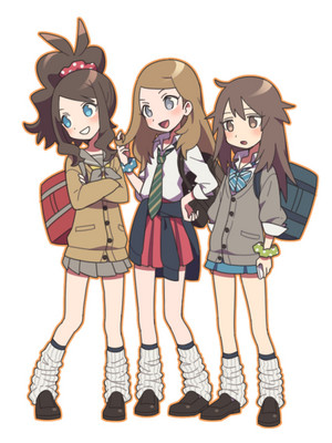 Pokemon girls