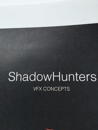 Shadowhunters TV ipakita wolpeyper probably containing a sign entitled 'Shadowhunters' pre-production