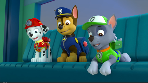 "PAW Patrol karatasi la kupamba ukuta called ""The New Pup"" Screenshot"