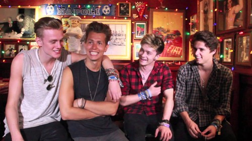 The Vamps wallpaper possibly with a diner titled                      The Vamps