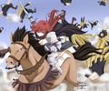 *Titania Erza Makes her Appearance* - erza-scarlet photo