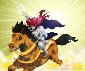 *Titania Erza Makes her Appearance*