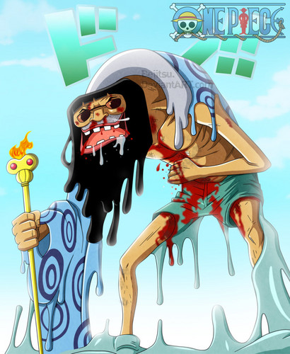 One Piece kertas dinding containing Anime entitled *Trebol's True Form*