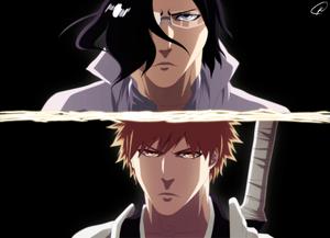 *Uryu vs Ichigo*