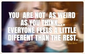tu aren't Weird