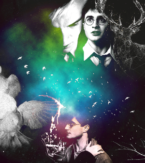 ♘ drarry art