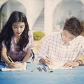 150424 ‪IU‬ and ‪Hyun Woo‬ for ‎UNIONBAY‬ Instagram update
