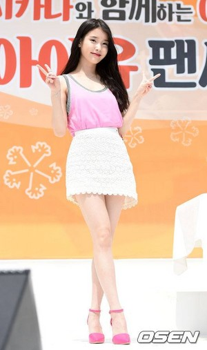 150426 आई यू at Mexicana Fansign Event