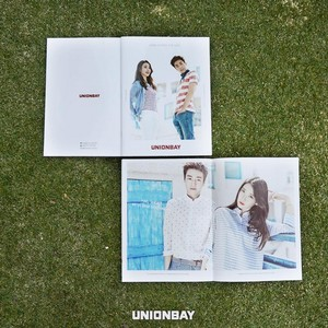 150504 ‪IU‬ and Hyun Woo‬ for UNIONBAY‬ Facebook update