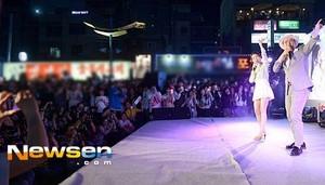 150515 IU at isoi Cosmetics Event in Hongdae