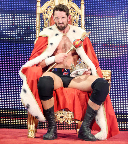Wade Barrett wallpaper with a throne entitled 2015 King of the Ring Winner