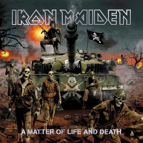 Iron Maiden پیپر وال probably containing عملی حکمت entitled A Matter of Life and Death