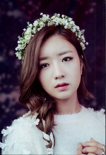 Korea Girls Group A Pink wallpaper containing a bouquet entitled A-Pink for AJ Girls Vol.1