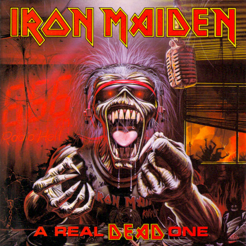 Iron Maiden پیپر وال containing عملی حکمت titled A Real Dead One