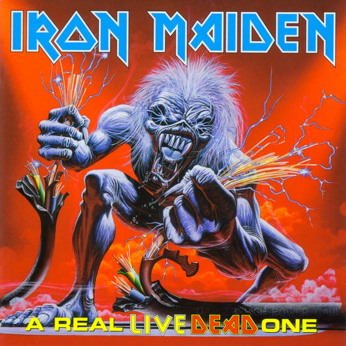 Iron Maiden wallpaper containing anime called A Real Live Dead One
