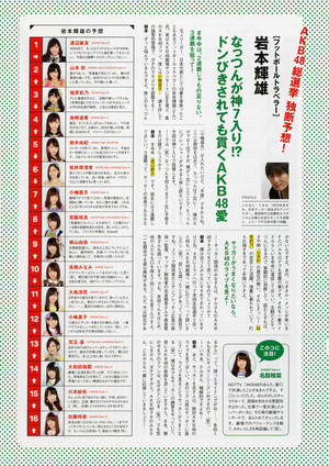 AKB48 General Election Official Guidebook 2015
