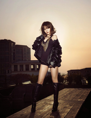AOA Jimin for Arena Homme  May 2015