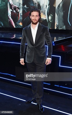 Aaron Taylor Johnson,Avengers/Ultron UK premiere
