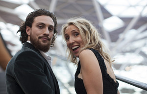 Aaron Taylor-Johnson  Red Carpet at Avengers Age of Ultron UK Premiere