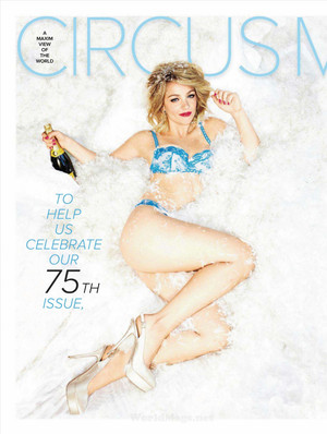 Abby in Maxim India - March 2012