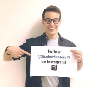 Alberto Rosende at ABC Family's studios