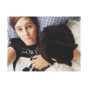 Allison and her cat