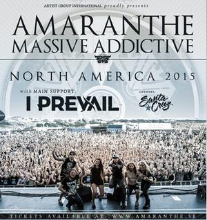 Amaranthe Tour Poster
