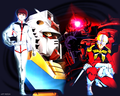 Amuro vs Char - gundam wallpaper