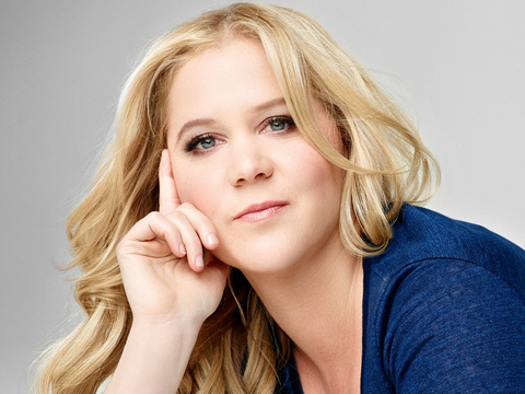 Amy Schumer kertas dinding with a portrait titled Amy Schumer