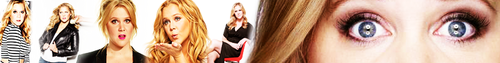 Amy Schumer foto called Amy Schumer banner suggestion