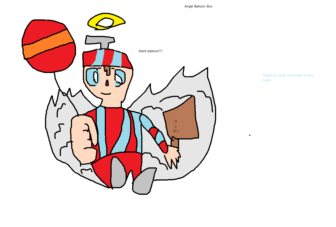 エンジェル Balloon Boy
