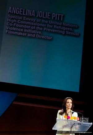 Angelina Jolie UN Security Council