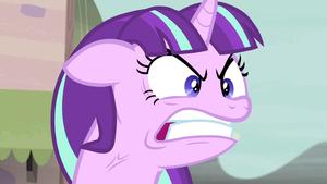Angry poney