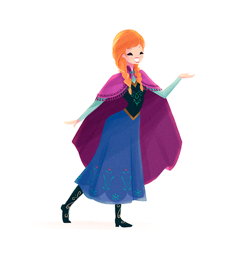 Disney Females wolpeyper probably with a kirtle titled Anna