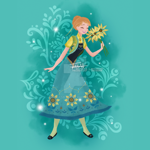 Frozen fever images anna hd wallpaper and background - Fever wallpaper hd ...
