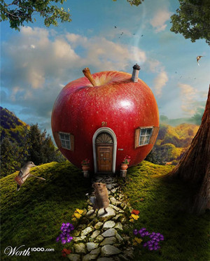 appel, apple House