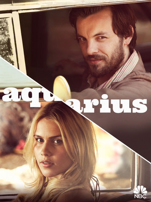 Aquarius Poster - Charles Manson and Charmain Tully
