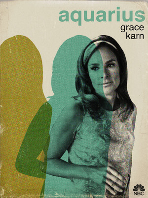 Aquarius Poster - Grace Karn