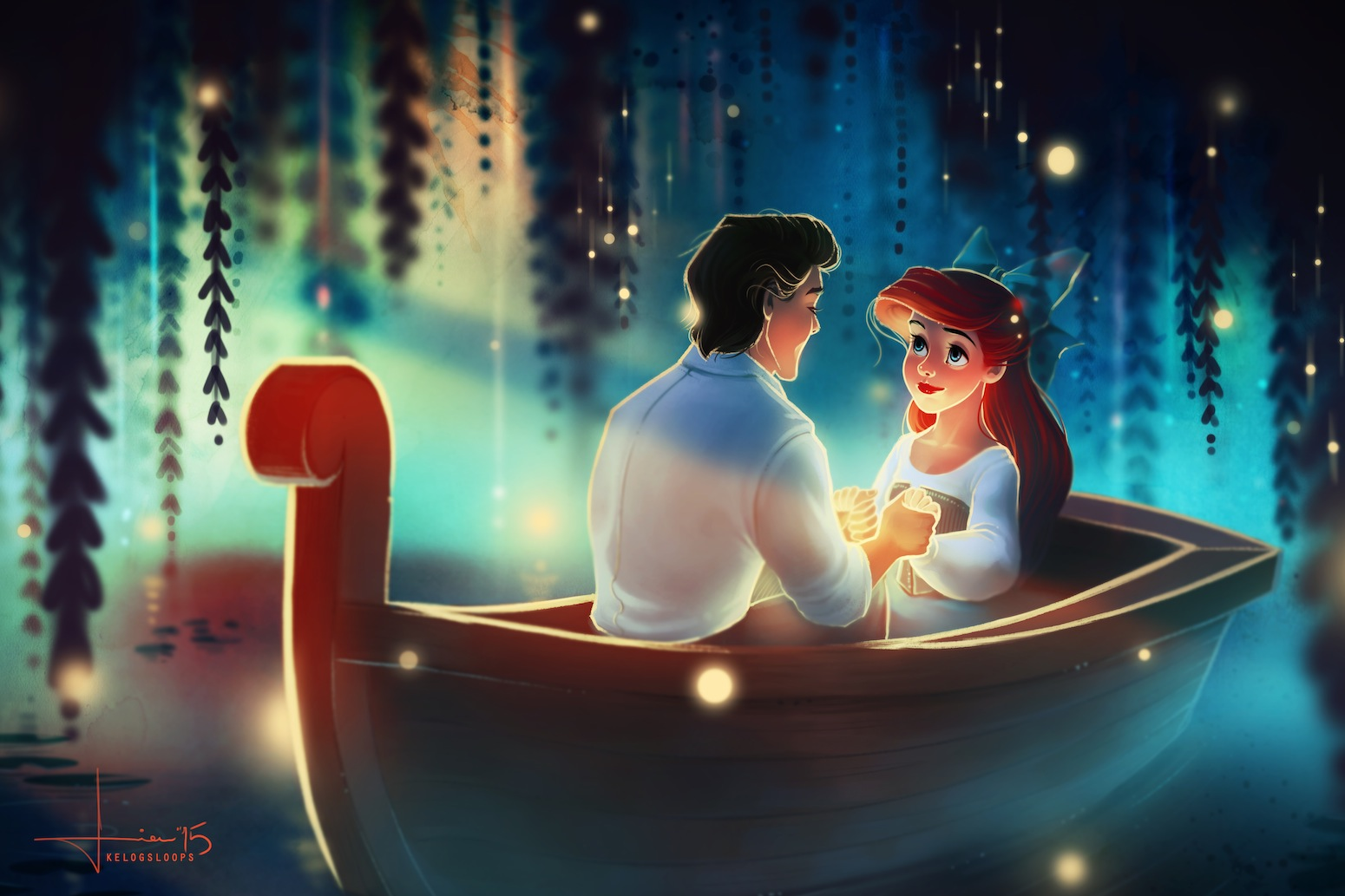 Royal Animated Couples images Ariel and Eric HD wallpaper and