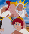 Ariel and Triton- Tears of Happiness and Letting Go - disney-princess photo