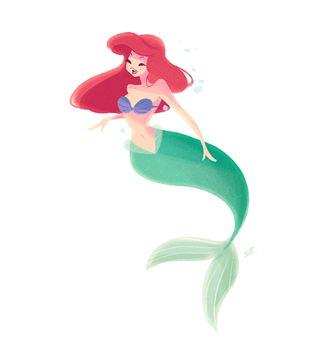 Disney Females wolpeyper entitled Ariel