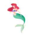 Ariel      - disney-leading-ladies fan art