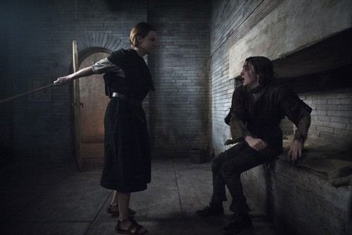 Arya Stark wallpaper possibly containing a penal institution, a penitentiary, and a street titled Arya Stark