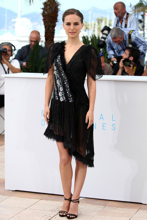 Attending a photocall for 'A Tale of Liebe and Darkness' during the 68th annual Cannes Film Festi