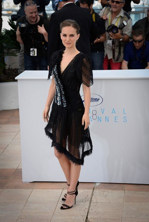 Attending a photocall for 'A Tale of amor and Darkness' during the 68th annual Cannes Film Festi