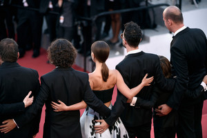 Attending the 'A Tale Of Love And Darkness' Premiere during the 68th annual Cannes Film Festival