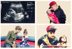 Au meme: Justin Bieber as a dad