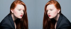 Auburn hair Carlota Coralie