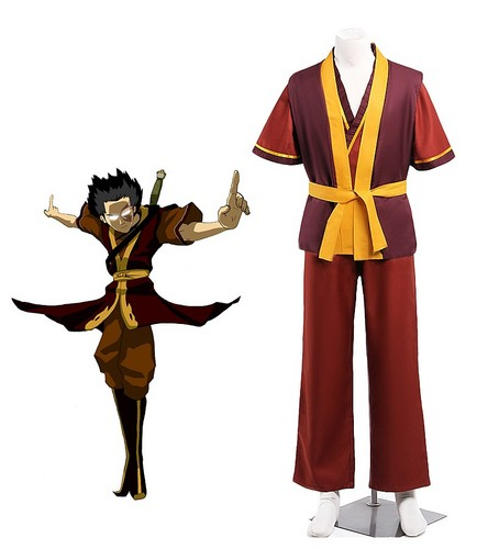 隆世神通:最后的气宗 壁纸 possibly containing a surcoat, 外套 and a 战袍, tabard entitled 阿凡达 Zuko Cosplay Costume