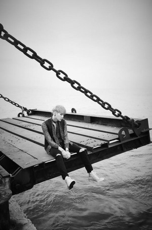 Bangtan Boys in black-and-white teaser images